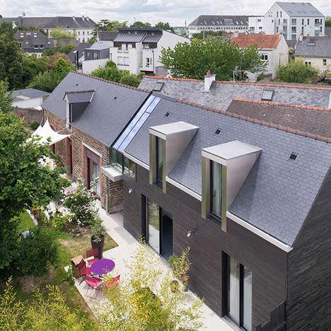 Conjoined Corridor Housing