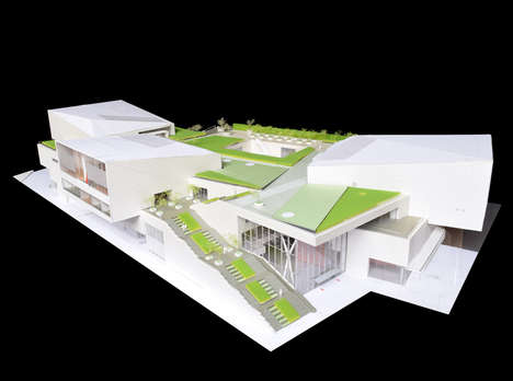 Green-Roofed Museums