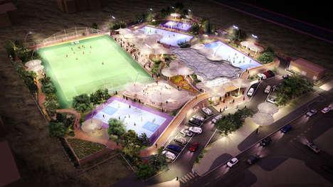 Canopied Community Stadiums