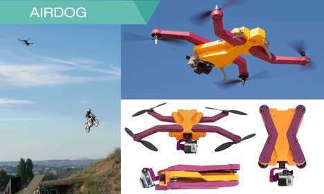 Personal Pet Drones - The AirDog by Helico Aerospace Industries is Made for Extreme Sports