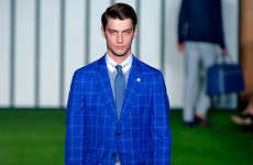 Preppy Opulence Runways - The Hackett London Spring/Summer 2015 Collection Exudes Sophistication