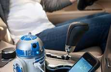 Galactic Gadget Chargers - This Fun USB Car Charger Looks Like R2D2 From the Sci-Fi Series Star Wars