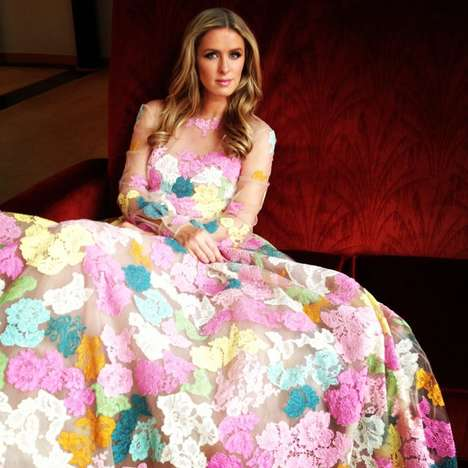 Socialite Product Subscriptions - Nicky Hilton Teams Up with Fancy for a Monthly Subscription