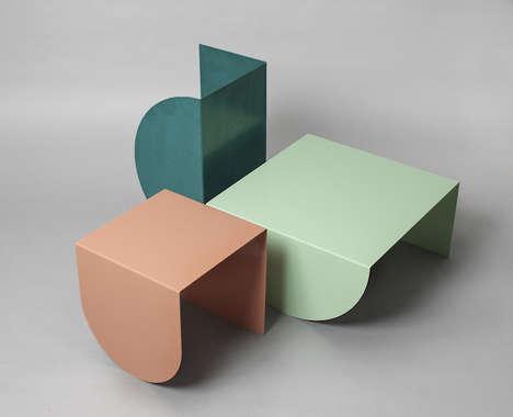 Pastel Geometrical Furniture