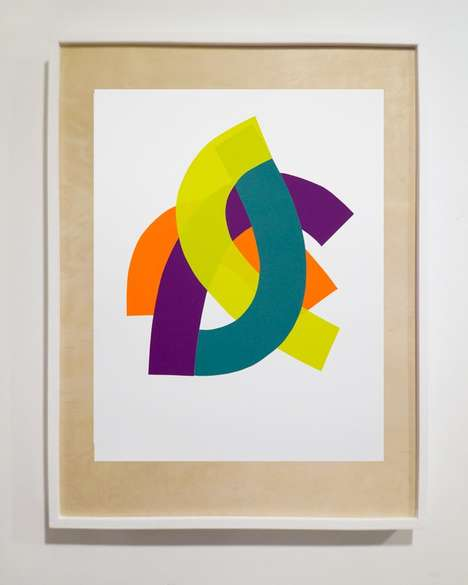 Abstract Paper-Cut Artworks