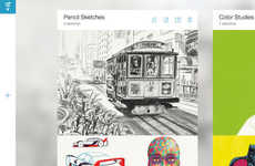 Advanced Designing Apps - Adobe is Releasing Five New Image Editing and Sketching Apps