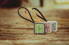 QR Code Keychains - The Talisman Hi-Tech Keychain by aiia is a Promotional Tool for Businesses