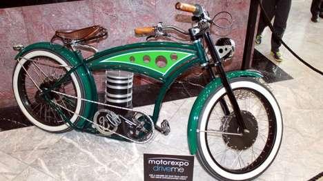 Designer Electric Motorbikes