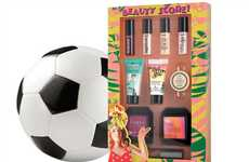 Football-Inspired Cosmetic Kits - Benefit Cosmetics' World Cup Makeup Kit is a Beauty Win