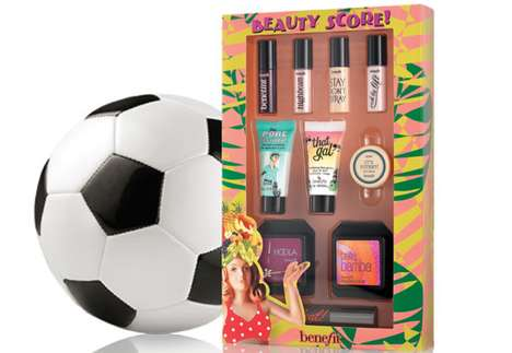 Football-Inspired Cosmetic Kits