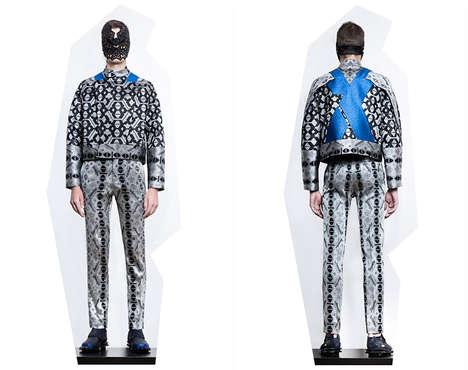 Futuristically Patterned Menswear