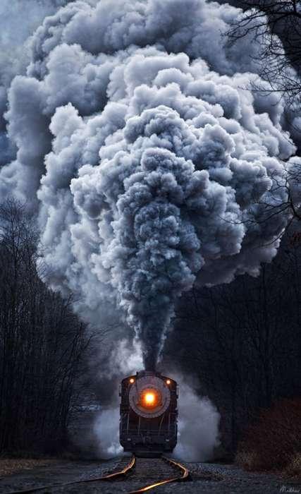 Smoky Train Photography