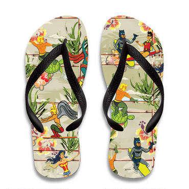 Tropical Superhero Sandals