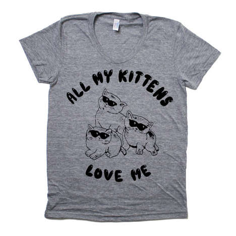 Kitten Swag T-shirts