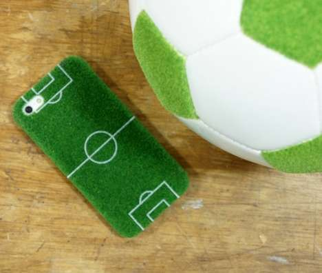 Soccer Field Phone Cases