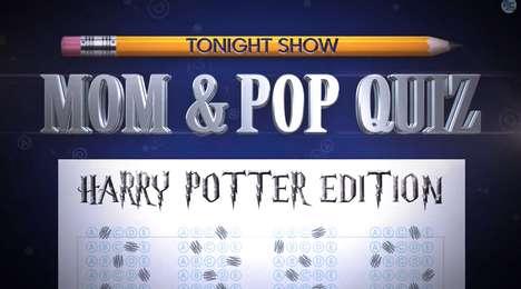 Wizarding Parental Pop Quizzes