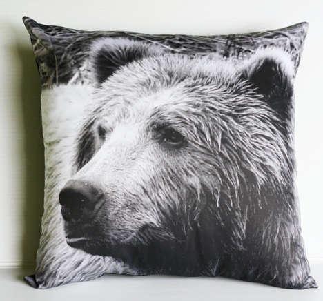 Photo-Printed Jungle Pillows