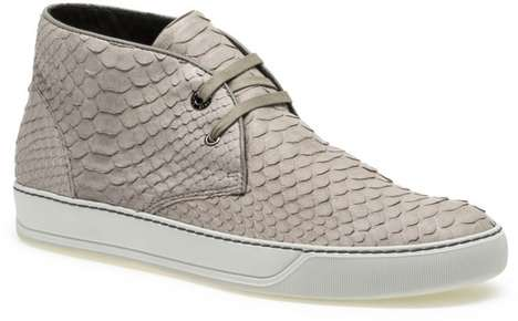 Couture Men's Sneakers - Lanvin Homme's Men's Sneakers Make Athletic Chic