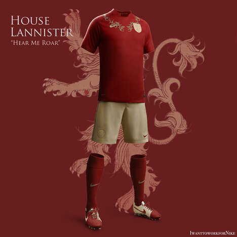 Fantasy Football Uniforms