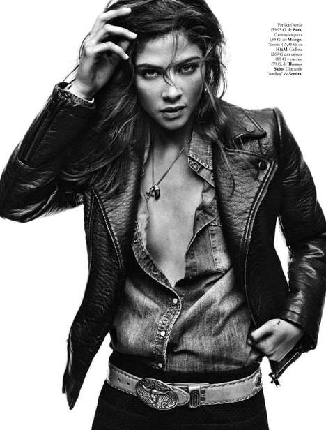 Understated Rocker Editorials