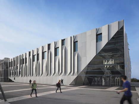 Aluminum-Clad Auditoriums