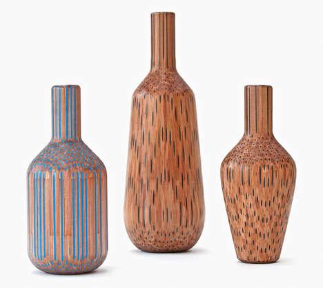 Pencil-Based Vases
