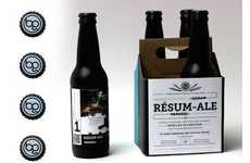 Resume Beer Branding - Brennan Gleason Came Up with an Amazing Resume Idea that Involved Beer
