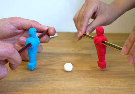 Foosball Pencil Toys