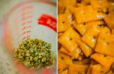 Cheesy Cannabis Crackers - This Cheez-It Recipe from 7Deadly Mag is for a Higher Class of People