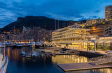 Stationed Yacht Hotels - Foster + Partners Designs the Yacht Club de Monaco