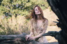 Lush Wilderness Editorials - Faith Picozzi Stars in the 'Faith on Sunday' Editorial for C-Heads