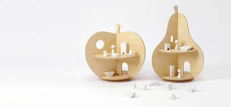 Fruit-Shaped Doll Houses