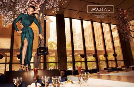 Glam Feline Fashion Ads