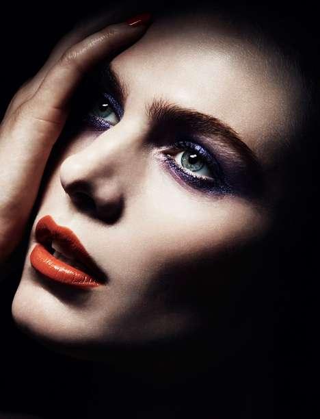 Shadowy Beauty Editorials