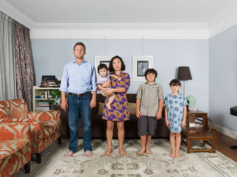 Mixed Family Portraits - CYJO Captures Stunning Images of Multi-Ethnic Families in Mixed Blood