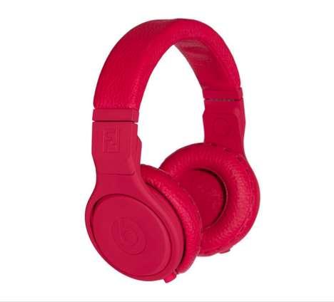 Blood Red Headphones