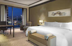 Guest-Ranking Eco Hotels - Green Rooms at the Westin Singapore Measure Guests' Energy Consumption