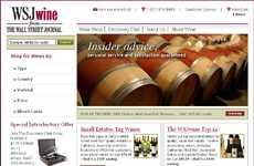 Newspaper Home Wine Services