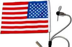Patriotic USBs - USA Flag Waver
