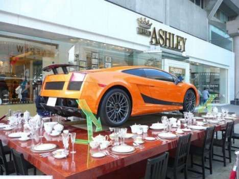 William Ashley Adds a New Car to the Dinner Table