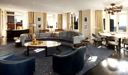 The Penthouse at The London Hotel New York