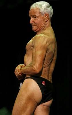 Fitness Competitions for Seniors - 79 Year-Old Bodybuilder Ray Moon