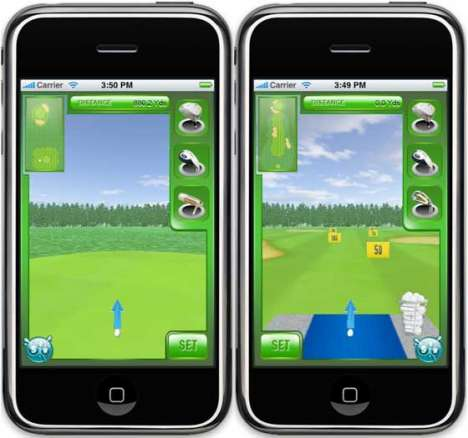 Wii-Style Mobile Gaming
