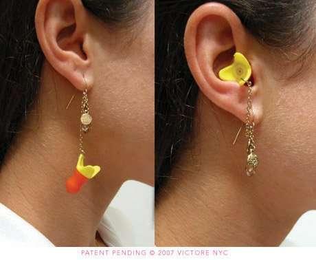 Noise-Canceling Earrings