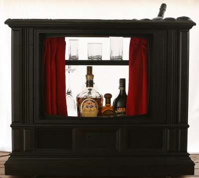 Recycled TV Bars