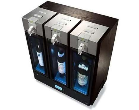 Wine Vending Machines - The Skybar