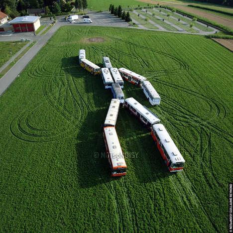 Giant Vehicular Robot Art