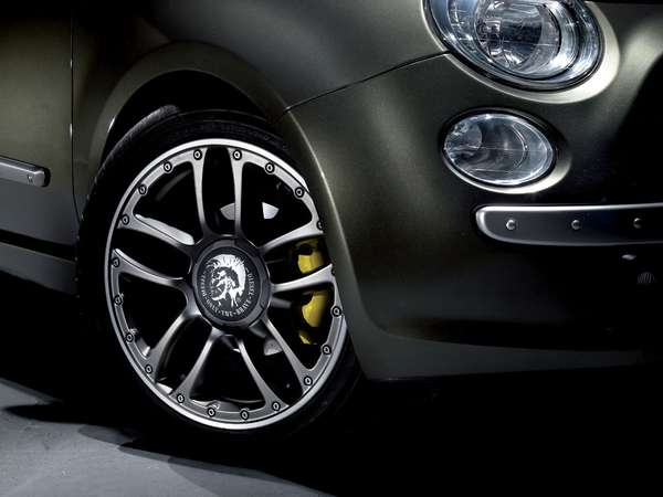 Fashion Branded Cars The Fiat 500 By Diesel