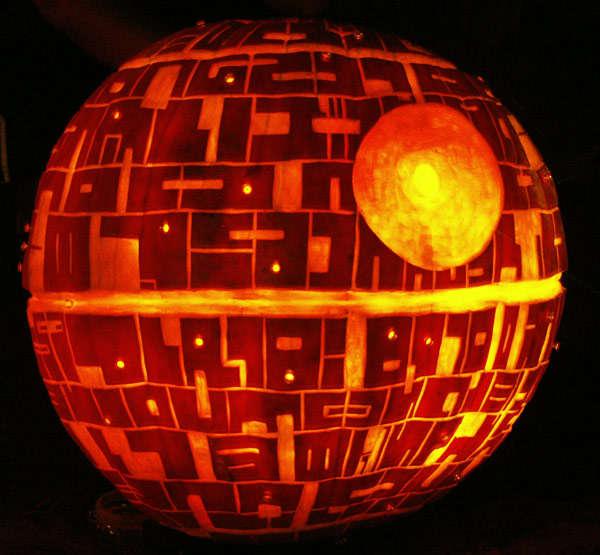 Stars Wars Pumpkins