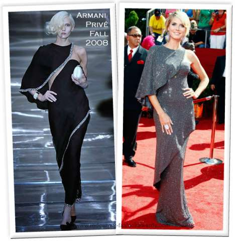 Dresses Go From Catwalk to Red Carpet